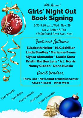 girls night out book signing