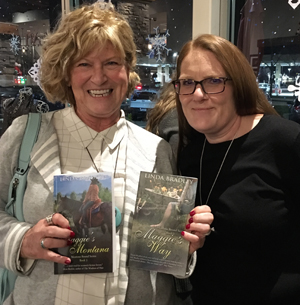 linda bradley - girls night out book signing